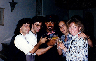 STEVE ROSEN, JUD, JAMES INGRAM, ALLAN RICH AND KATHY SPANBERGER