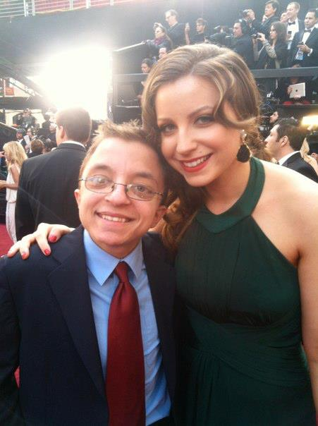 Michael and Ari Friedman at the Oscars 2012