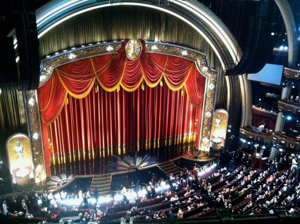 The view from inside – Oscars 2012